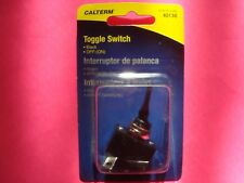 MOMENTARY TOGGLE ROCKER HORN LIGHT SWITCH 15 AMP 12 VOLT OFF/ON 1/2 INCH HOLE