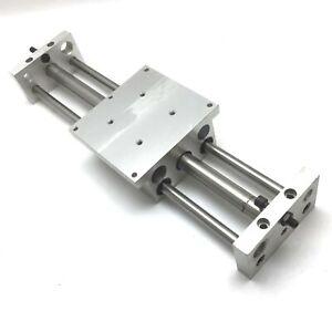 "Phd CBU041X10 Rodless Cylinder Linear Slide Table, Shafts: 1/2"", Stroke: 10"""