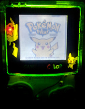 Gameboy Color + Front Light Frontlit! Top Quality! + Pokemon Yellow *Authentic*