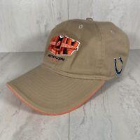 Super Bowl XLIV 44 Adjustabke Hat Cap Beige South Florida Saints Colts