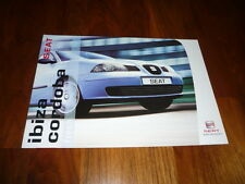 Seat Ibiza / Cordoba FRESH Prospekt 12/2003