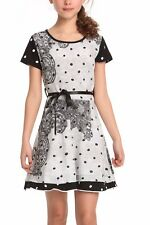 Brand New Desigual kids collection motif elegant comfortable cotton 9-10 Years