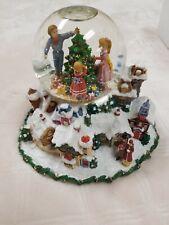 "San Francisco Music Box Co. Victorian Village ""Here comes Santa Claus"""