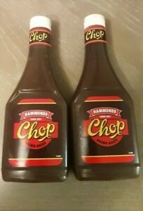 HAMMONDS CHOP BROWN SAUCE SAME RETRO TASTE YOU REMEMBER 16-6-22 Freshest stock!