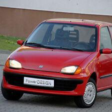 Sopracciglia per FIAT SEICENTO 1998-2009 ABS Plastica palpebre fari