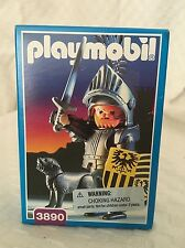 New Sealed Playmobil 3890 Figurine Toy Baron Knight Armor Sword Dog