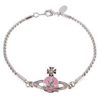 Vivienne Westwood Pink Meteor Bracelet With Packing