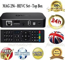 MAG 256 Genuine Infomir IPTV/OTT Set-Top Box  EU Power Pin