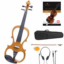 Cecilio Size 4/4 Electric Violin Ebony Fitted ~Yellow Style1