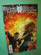 Bionic Man vs Bionic Woman #5 Sean Chen 1st Print Comic Dynamite Comics VF