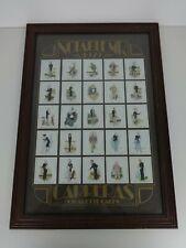 More details for vintage carreras cigarette cards notable mps 1929 framed tobacciana display