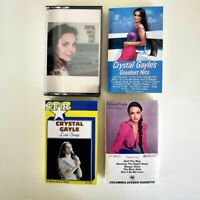 Crystal Gayle - Lot of 4 Cassettes - Greatest Hits - True Love - Mississippi