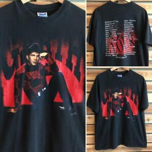 VTG 90s Garth Brooks 1993 Double Side Tour Band Country SINGLE STITCH T Shirt XL