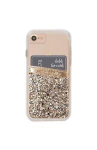Case-Mate Champagne Glitter Pockets