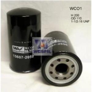 Wesfil Oil Filter - WCO1 (Z642)