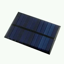 Solar Cell Panel Kit Rough Edge USA 0,6 W 6 V Arduino Diy Photovoltaic