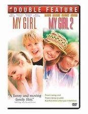 My Girl 1 & 2 (double Slumber Pack) R1 DVD Set Macaulay Culkin