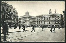Genova : Piazza De Ferrari - cartolina non viaggiata, primi '900