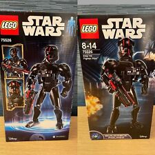 Lego Star Wars 75526 Elite TIE Fighter Pilot New And Sealed 2017 Retired Set