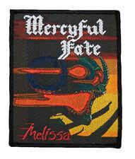 Mercyful Fate Melissa Aufnäher(SP3063)Mercyful Fate Patch-Gewebt/Lizenz