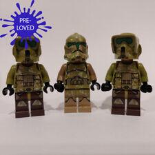 [Pre-Loved] Genuine LEGO Star Wars 3 x Kashyyyk Clone Trooper Minifigures