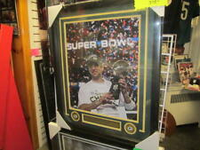 Aaron Rodgers Green Bay Packers Signed 16x20 Superbowl Framed Photo JSA