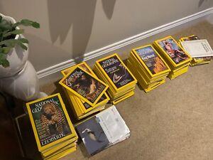 National Geographic magazines 1985 - 2019