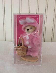 "Muffy VanderBear Miniature Series ""Bunny"" Easter LE #1299 MIB"