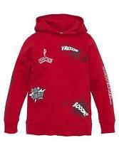 NEU Marken-Kapuzen-Sweatshirt von BUFFALO, rot, Gr. 164/170 Damen-Kinder