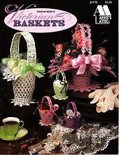 Crochet Victorian Baskets (1993, Annie's Attic Crochet Booklet)