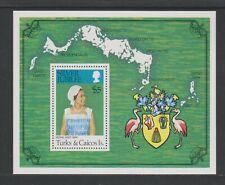 Turks & Caicos - 1977, Silver Jubilee sheet - MNH - SG MS475