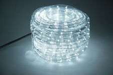 GEV LED Lichtschlauch KaltWeiss 24m Innen Außen IP44+Netzteil Lichterschlauch