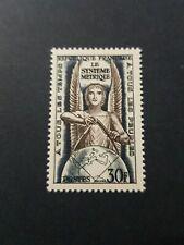 TIMBRE FRANCE SYSTÈME MÉTRIQUE PARIS N°998 NEUF ** LUXE MNH 1954 COTE 6,00€