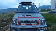 Front Grille Grill for SUZUKI Jimny 2002-2011 All Chrome Without Emblem