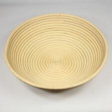 "Round 12"" Dia Sourdough Banneton Brotform Dough Proofing Rattan Bread Baskets"