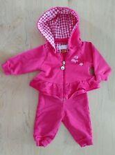 MAYORAL NB Newborn Girls Fuchsia Sweatshirt and Pants Set Perfect Condition!