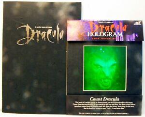 DRACULA - 1993 - F.FORD COPPOLA - Press Book ORIGINAL + RARE HOLOGRAM USA