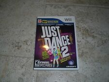 Just Dance 2 (Nintendo Wii, 2010) Complete! Free Shipping! Disc near mint!