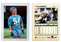 Kurt Gouveia Signed 1995 Collector's Choice Update #U172 Card Eagles Autograph