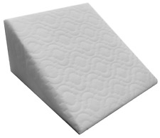 Large Acid Reflux Flex Foam Support Bed Wedge Pillow with Luxury Quilted Cover