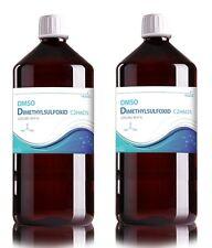 2 x 200 ml DMSO Dimethylsulfoxid 99,9% Glaspipette traditioneller Fachdrogerie