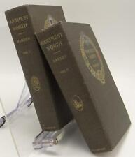 Farthest North Fridtjof Nansen 1893-1896 Exploration Ship Fram 2 Volumes 4 Maps