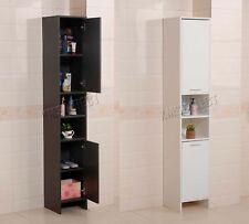 WestWood Bathroom Cabinet Tall Shelving Storage Cupboard Floor Standing BC10