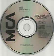 KINKS Entertainment 1989 USA PROMO DJ CD Single MINT Ray Dave Davies CD45 18168