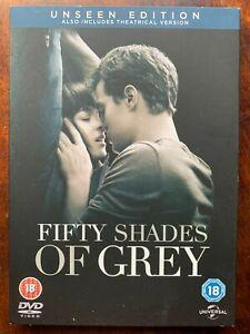 Cinquanta Tonalità Di Grigio DVD 2015 El Giacomo Erotico Film Con Copertina
