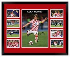 LUKA MODRIC CROATIA 2018 WORLD CUP SIGNED LIMITED EDITION FRAMED MEMORABILIA
