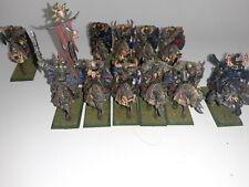 Warhammer Fantasy Age of Sigmar Chaos Knights Painted