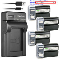 Kastar Battery Slim Charger for Konica Minolta NP-800 Battery Dimage A200 Camera