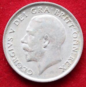 GEORGE V SHILLING 1915