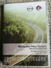 2018-20 VAUXHALL  OPEL DVD800&CD500 SAT NAV MAP DISC NAVIGATION UPDATE UK&EUROPE